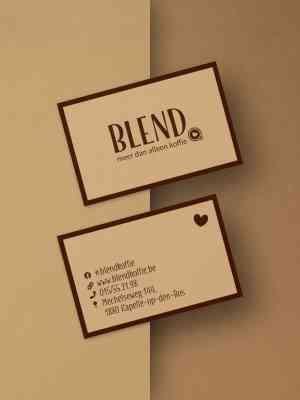 foto 3 van project Branding & website voor koffiebar Blend